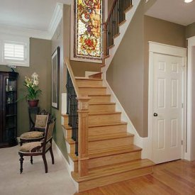 Stained Glass Stair