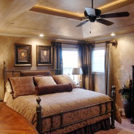 Tuscan Master Bedroom